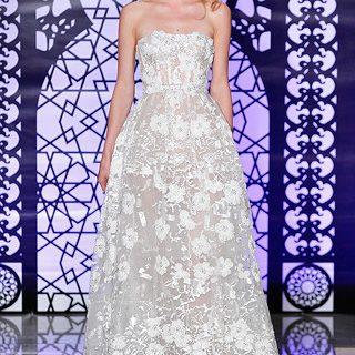 전지현 본식 드레스 브랜드 '림아크라(Reem Acra)' 2016년 가을겨울 컬렉션