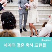 세계의 결혼 축하 표현들