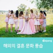 해외의 결혼 문화 풍습